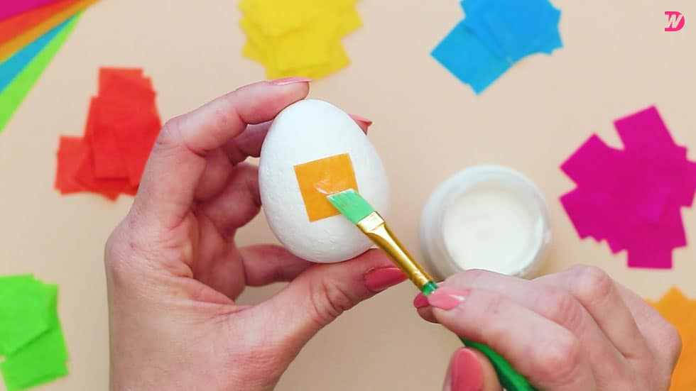 Paper Maché Easter Eggs Picture-12
