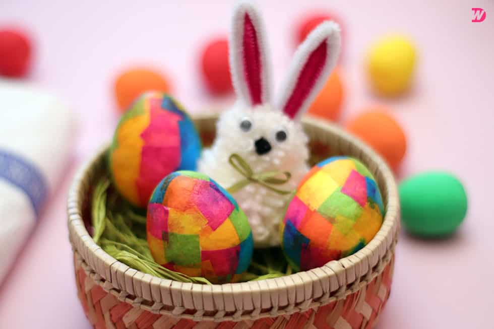 Paper Maché Easter Eggs to craft
