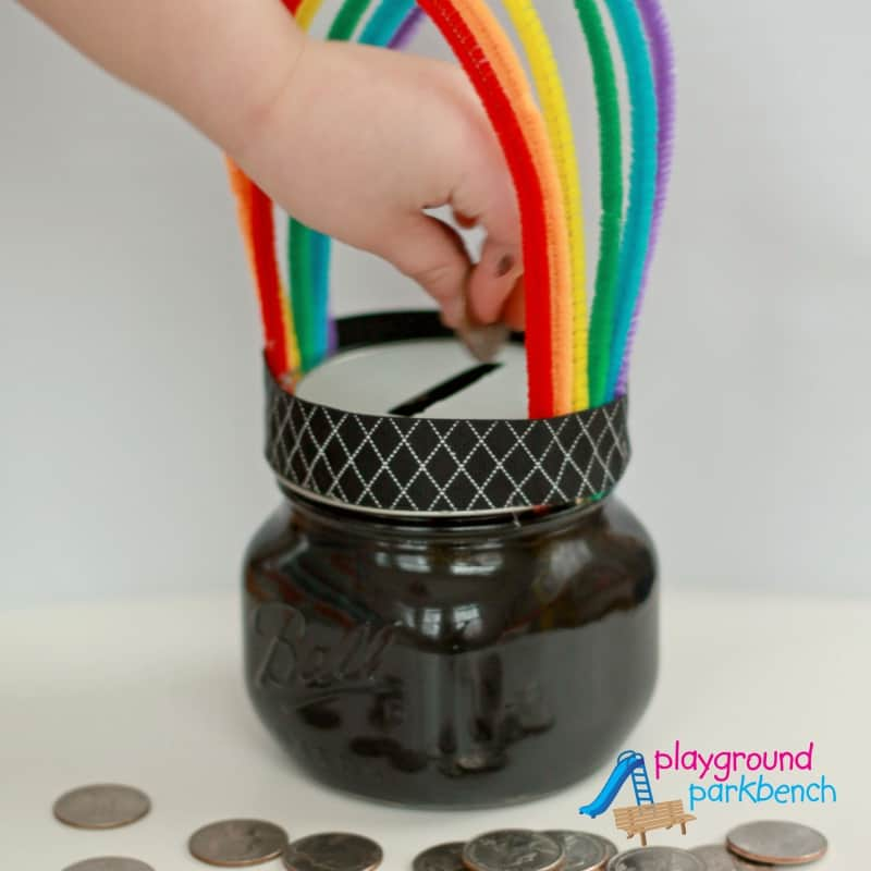 Pot of gold piggybank
