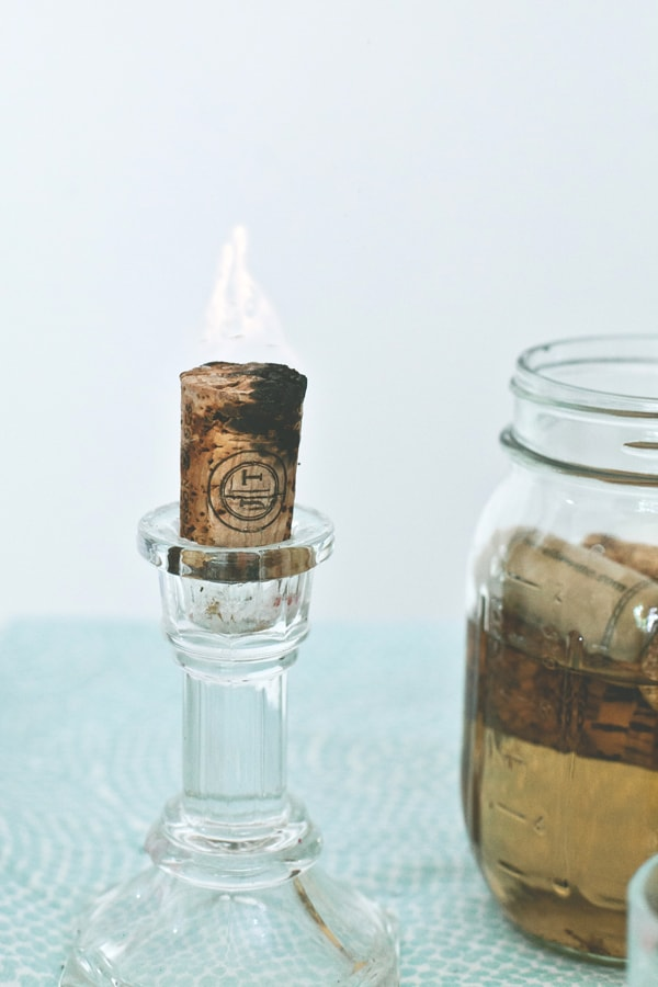 cork candles 15 Creative DIY Wine Cork Projects